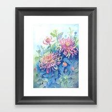 Chrisanthemum Framed Art Print