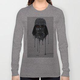 Darth Vader Melting Long Sleeve T-shirt