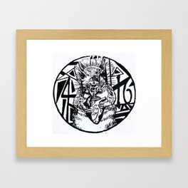 foursixteen Framed Art Print