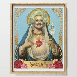 Saint Dolly Parton Serving Tray