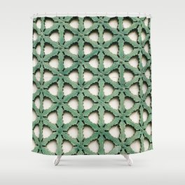 A royal pattern Shower Curtain