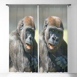 Happy Gorilla Lope Blackout Curtain