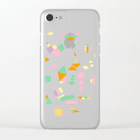 Juxtapose Clear iPhone Case