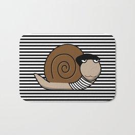 French Snail ~ Escargot Bath Mat