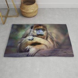 The Female Howler Monkey Rug