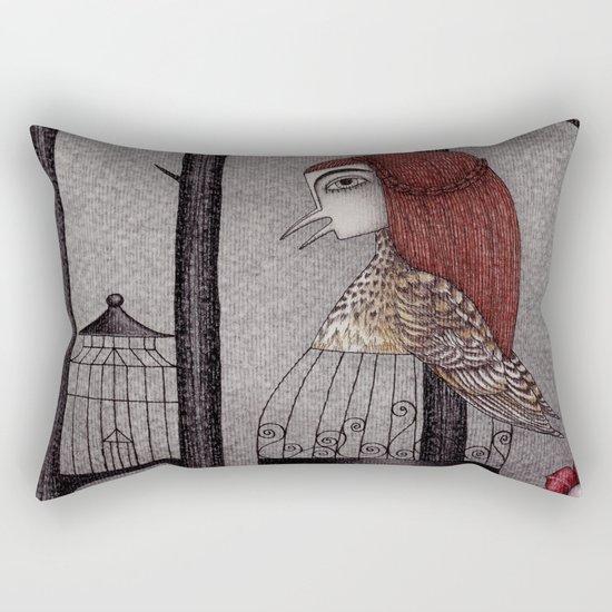 Jorinda and Joringel (2) Rectangular Pillow