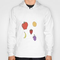 fruit Hoodies featuring Fruit by PandaBaby