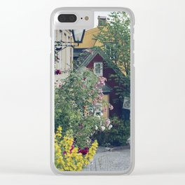 Who said Oslo is grey? Clear iPhone Case