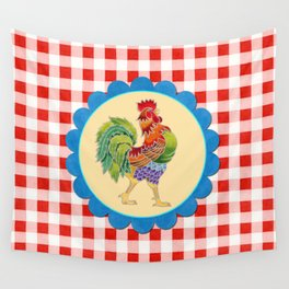 Rise and Shine Rooster Wall Tapestry