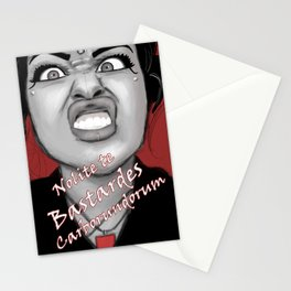 Nolite te Bastardes Carborundorum Stationery Cards