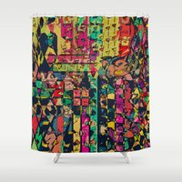 carnival Shower Curtains featuring Carnival by Glanoramay