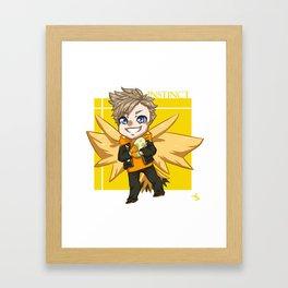 Team Instinct's Spark Framed Art Print