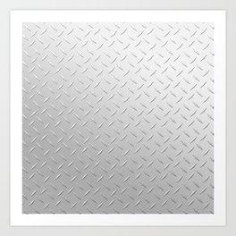 Diamond Plate Art Print