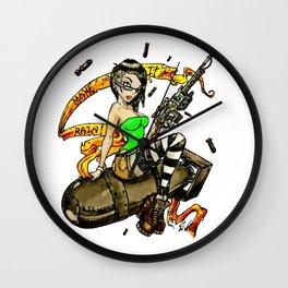 Lil Miss Atom Bomb Wall Clock