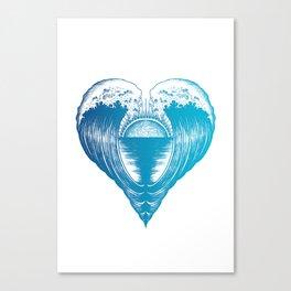 Heartfelt Canvas Print