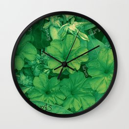 Flowers V5 Wall Clock