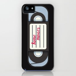 Home Movies iPhone Case