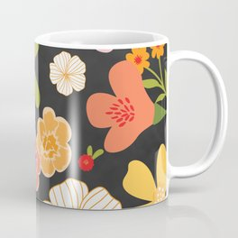 Farmers Market Floral Coffee Mug