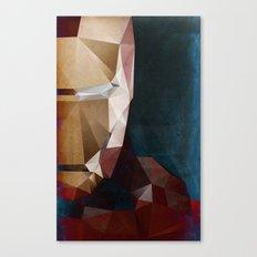 Iron Man Profile Canvas Print