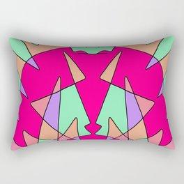 Abstract Monster Rectangular Pillow