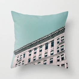 Vintage Blues Throw Pillow