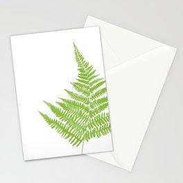 Lady Fern Illustration Botanical Print Stationery Cards