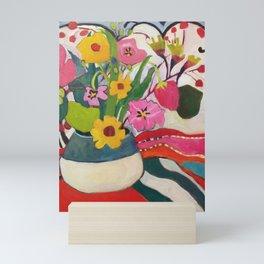 Pure Joy Bouquet Mini Art Print