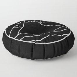 Alpine Summit Floor Pillow