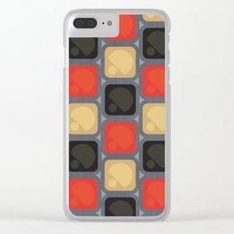 MCM PikNik Clear iPhone Case