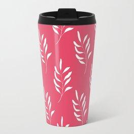 HOT PINK FLORAL Travel Mug