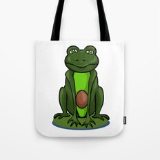 Frogocado Tote Bag