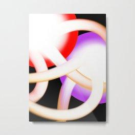 Atomic Zoom Metal Print