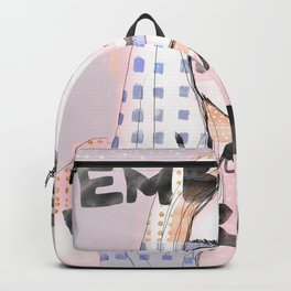 cara delevigne - embrace your weirdness Backpack