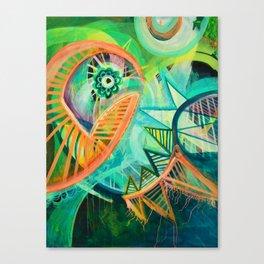 Spikes Canvas Print