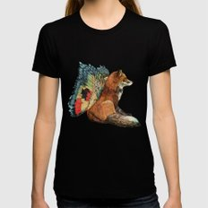 Flying Fox Womens Fitted Tee Black X-LARGE