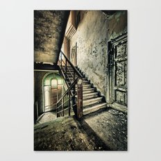 Neglected Stairway Canvas Print