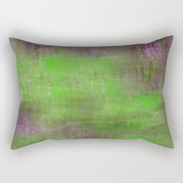 Green Color Fog Rectangular Pillow