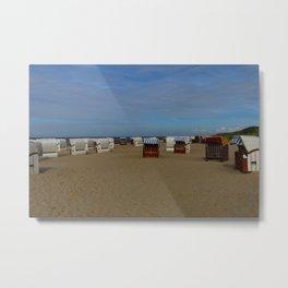At The Seaside Metal Print