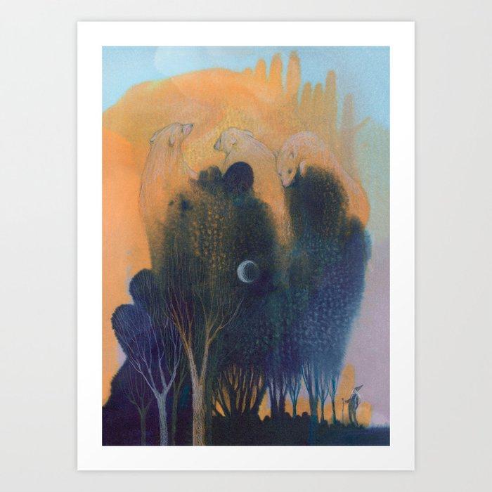 Forest of Endless Sleep Kunstdrucke