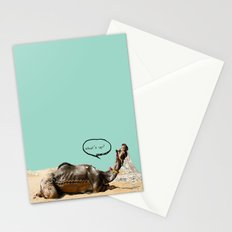 Pushkar fair chillout Stationery Cards