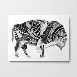 BISONTE Metal Print