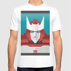 Ratchet MTMTE White MEDIUM Mens Fitted Tee