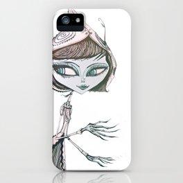 mrs wolf iPhone Case