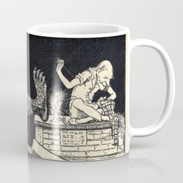 A monster appeared! Coffee Mug