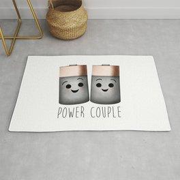Power Couple | Batteries Rug
