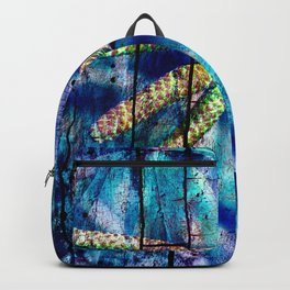 Blue Archetypal Poetry Backpack