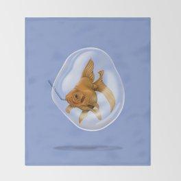 A Breath of Fresh Air (colour) Throw Blanket