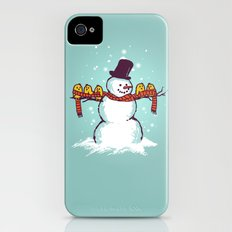 Sharing is caring (Winter edition) Slim Case iPhone (4, 4s)