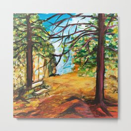 Woodland Beauty Metal Print