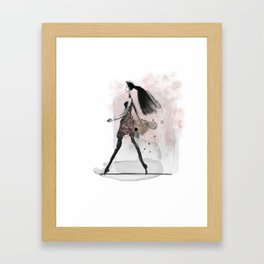 Glam Girl Framed Art Print